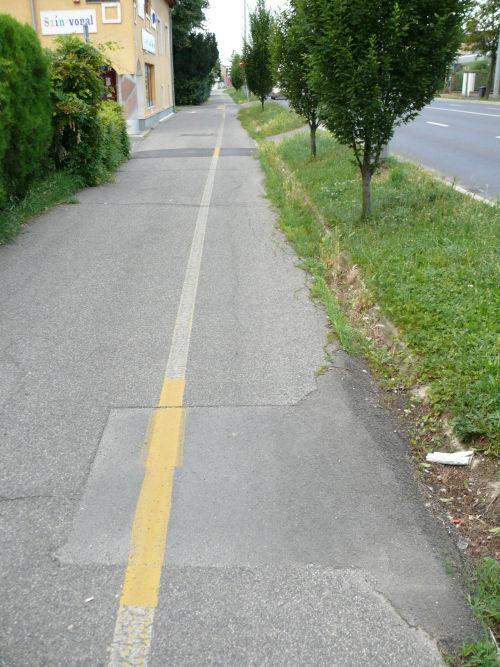 Zanati úti kerékpárút