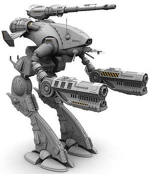 A BattleTech Marauder.