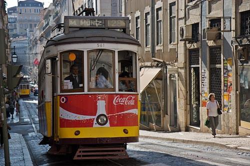 Lisszabon, villamos