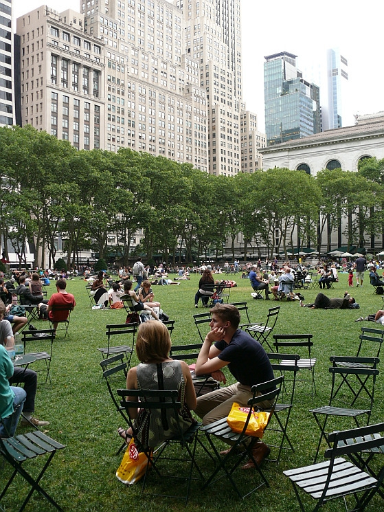 New York, Bryant Park