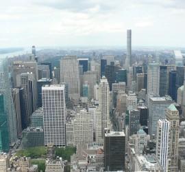 Empire State building kilátás
