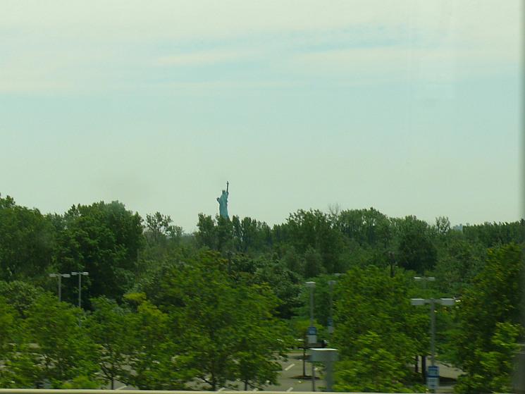 A Szabadság-szobor szokatlan