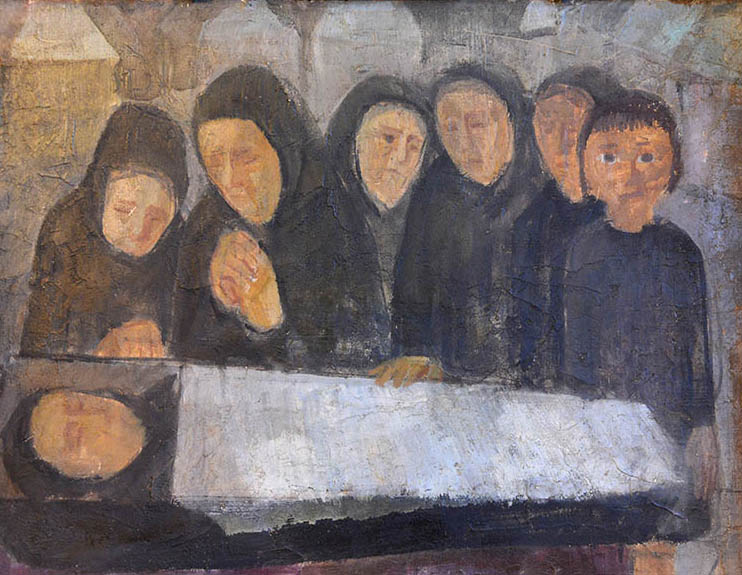 Szokolszky Miklós festményei a Vitalitas Galériában