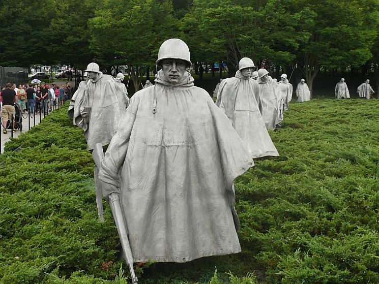 A koreai háború emlékműve