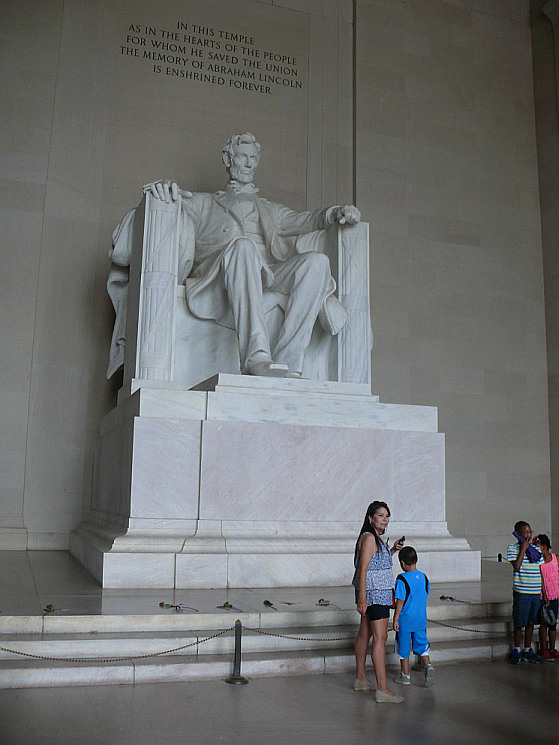 Abraham Linkoln szobra