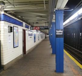 New York, metrómegálló