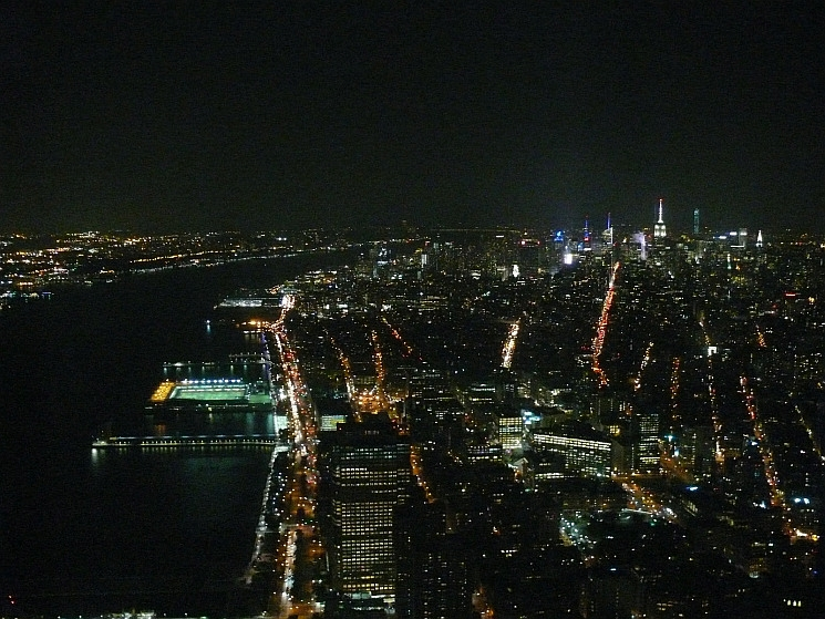 New York, éjszakai fények