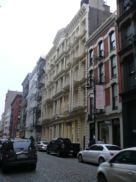 New York, Greene Street (Soho)