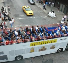 New York, városnéző busz