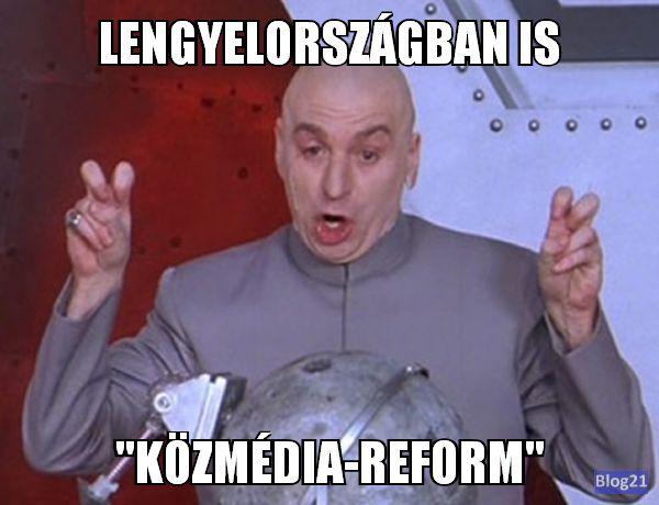 """Lengyelországban is """"közmédia reform"""""""