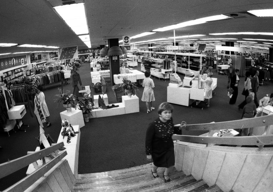 A budapesti Skála áruház megnyitója
