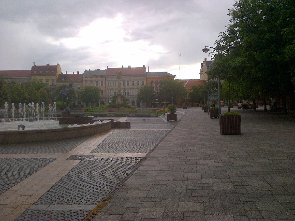 Szombathely, Fő tér, 2016. június 14. délután 6 óra