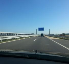 Az M86-os út csornai elkerülő szakasza