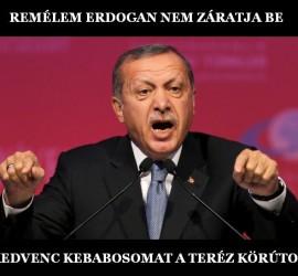 Erdogan és a kedvenc körúti kebabosom