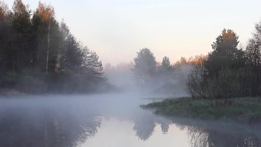 Köd a Polja folyó felett (Fotó: Shutterstock.com)