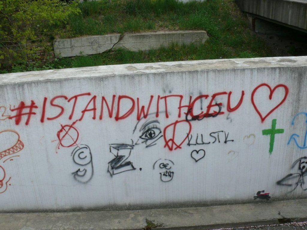 CEU graffiti