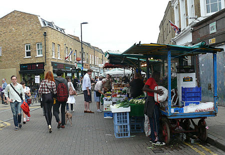 Broadway Market, London