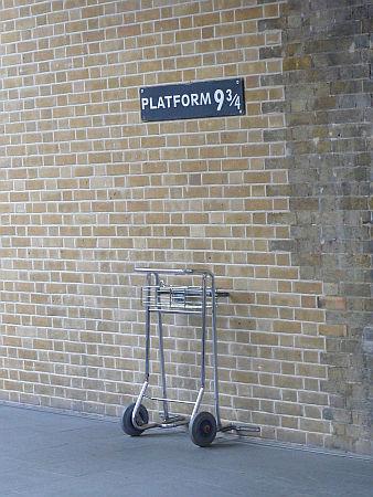 Harry Potter itt szállt fel a vonatra