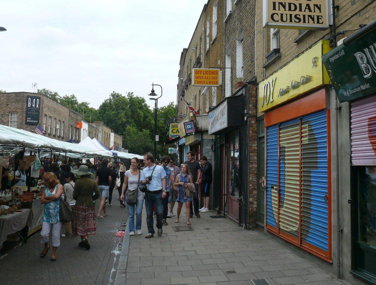 London, Broadway Market