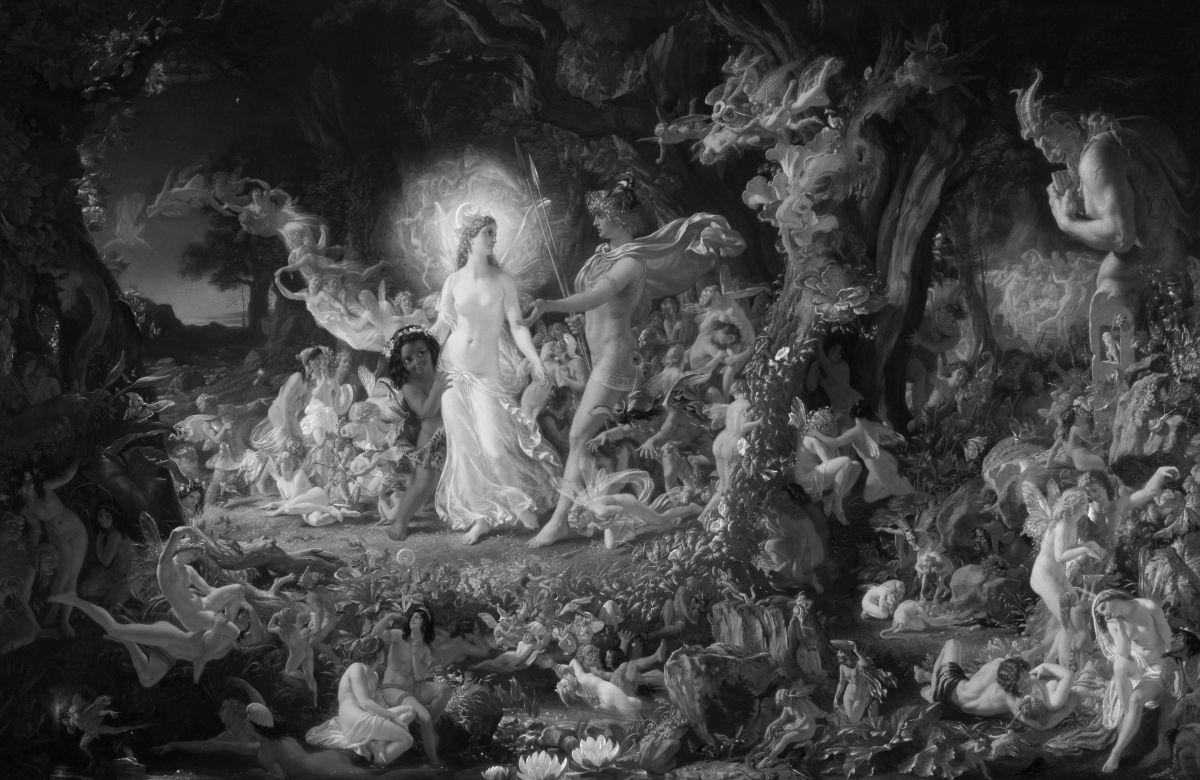 Joseph Noel Paton: Oberon és Titánia veszekedése
