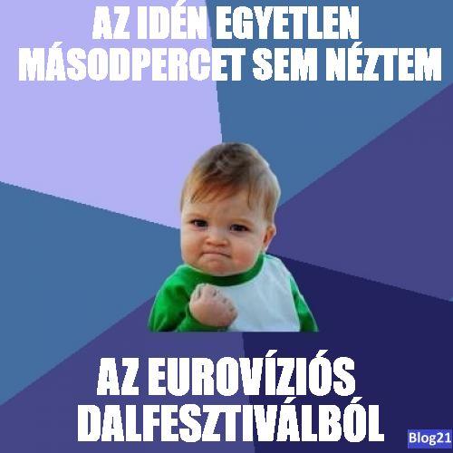 Az idei Euróvíziós Dalfesztivál
