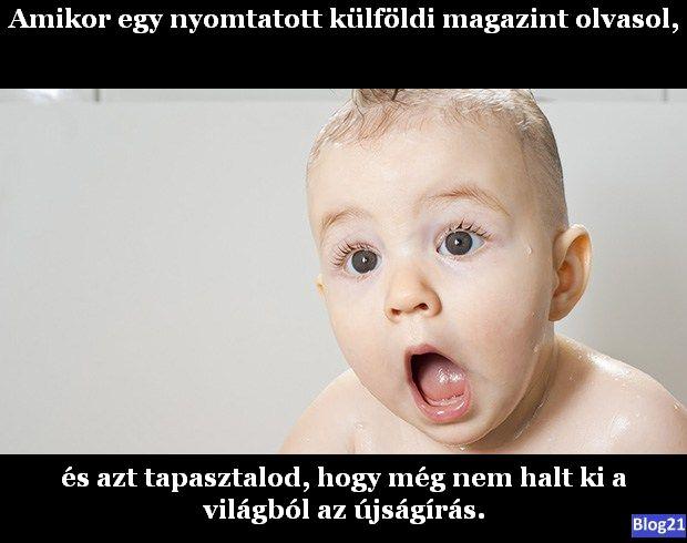 Amikor külföldi magazint olvasol