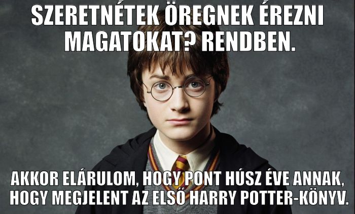 Harry Potter 20 éves