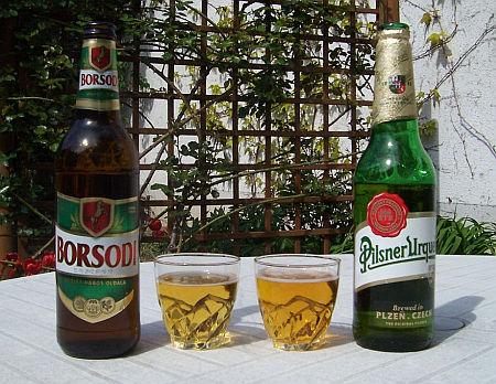Borsodi és Pilsner Urquelle