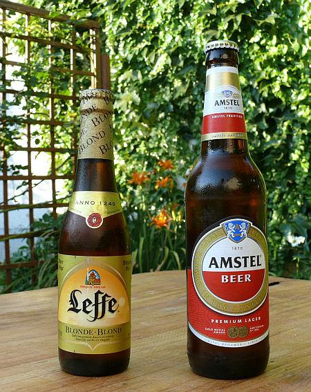 Leffe és Amstel