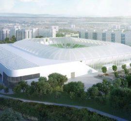 Az új szombathelyi stadion látványterve