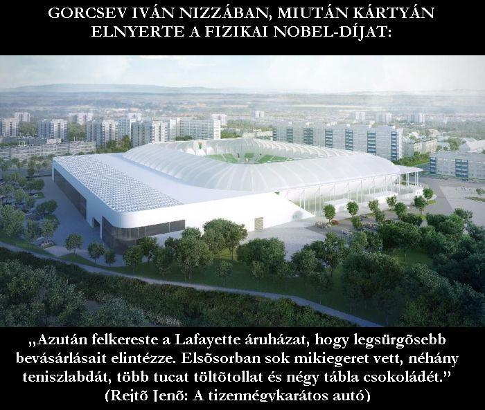 Gorcsev Iván és az új Hali-stadion