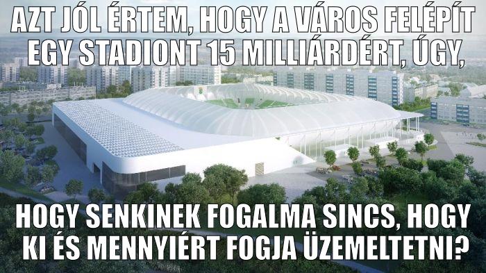 Az új szombathelyi stadion üzemeltetésének sötét igazsága