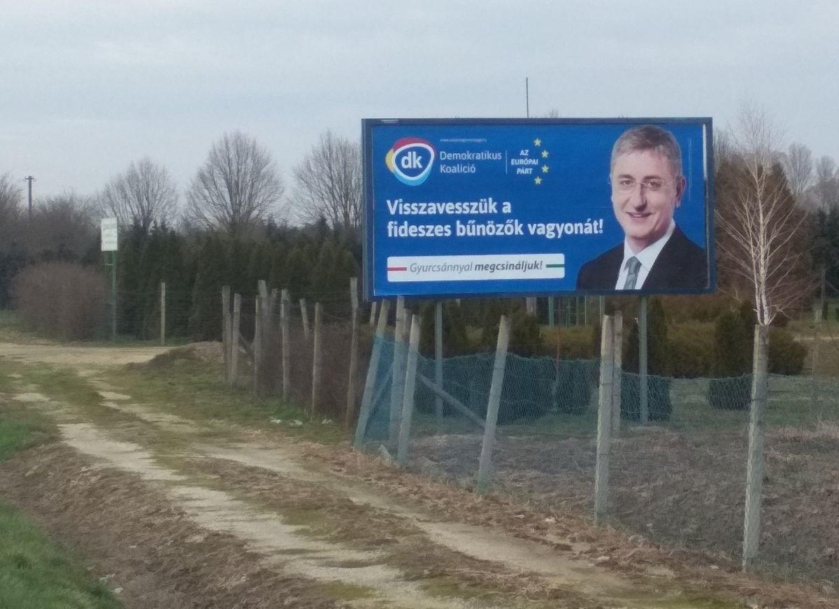 Gyurcsány Ferenc plakát