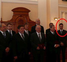 Vas megyei képviselők 2010 - a jobb szélen Gulyás Gergely